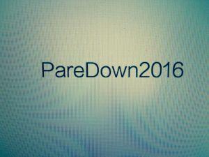 PareDown2016